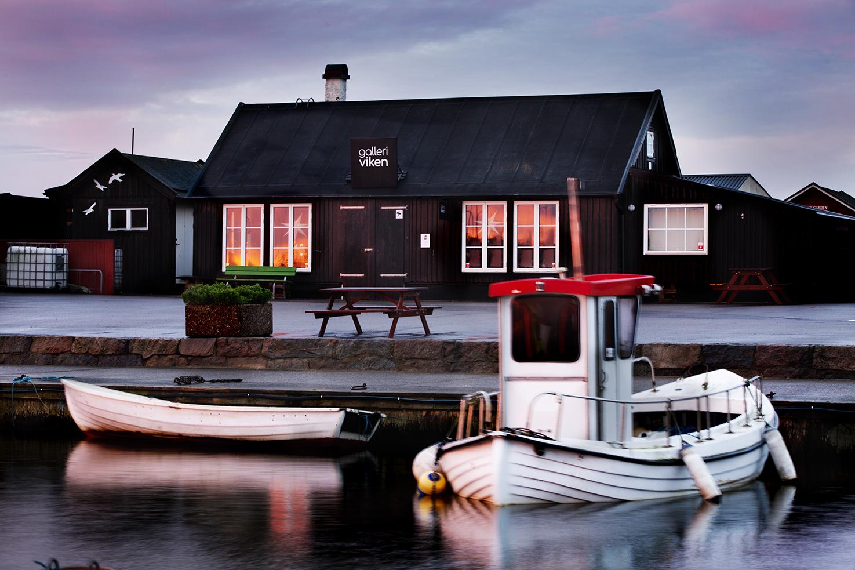 Visa Galleri Viken i Vikens hamn